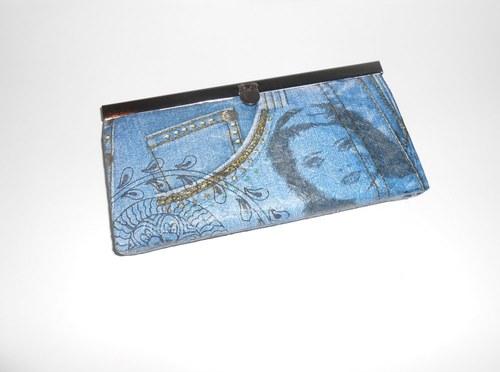 Peněženka - Jeans sleva 4e2cef6c98